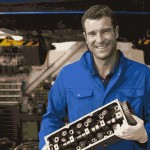 A Smiling Mechanic